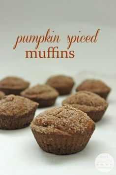 Pumpkin spiced muffins are the best way to prepare for fall. These are dairy…