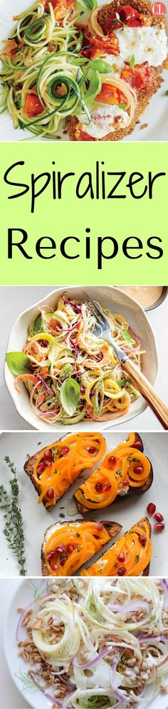 Turn vegetables into delicate, twirly noodles to make day-to-day meals extraordinary. Spiralizing is an awesome and entertaining way to get fresh fruits and vegetables into your diet without incorporating complicated and calorie-heavy ingredients. | Cooking Light