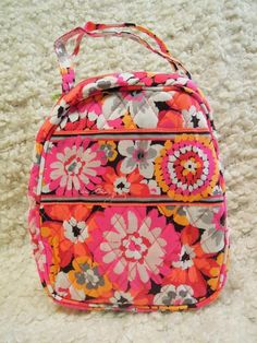 f3887ca22401 Nwt VERA BRADLEY Lunch Bunch Bag Box or Cosmetic Case FreeShip! Pixie  Blooms  verabradley  biblecover