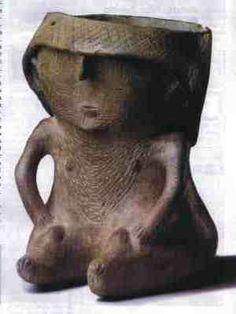 FORMAS ALFARERAS PRECOLOMBINAS --- CERÁMICA CIENAGA (noroeste argentino) Cerámica Ideas, Ceramic Clay, Ancient Civilizations, Archaeology, South America, Garden Sculpture, Mexico, Pottery, Fine Art