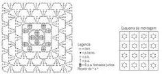 Resultado de imagem para passo a passo capa para braço de sofá em croche