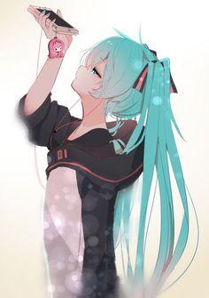 ルカが好きなミクさん hatsune miku, miku chan, all anime, anime Anime Girl Cute, Beautiful Anime Girl, Anime Art Girl, Manga Girl, Anime Girls, Manga Kawaii, Kawaii Anime Girl, Manga Anime, Anime Cat