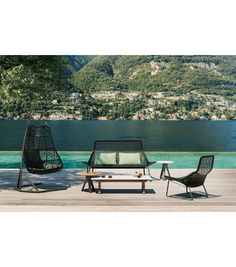 Vis à vis sofa | Pinterest | Lounge sofa, Outdoor lounge and Outdoor ...