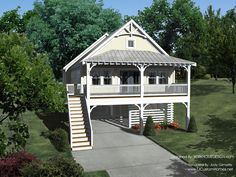 Stilt house design plans
