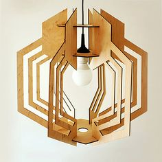 Pendant lamp. Plywood от DefdesignUA на Etsy