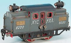 Doll Locomotive NYCHRR 20 volt railcar A3