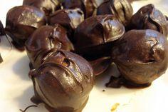"Chocolate Covered ""Dough"" Balls"