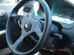 Racing Steering Wheel for Honda Civic Si #racing #steeringwheel #honda #civicSi #jdm