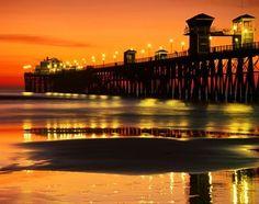 Oceanside Pier San Diego CA | Found on pinterestinit.blogspot.com