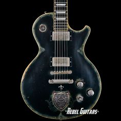 "Scala Guitars ""Black Spell"" | Rebel Guitars"