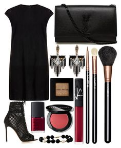 """""""Untitled #593"""" by daimy-style ❤ liked on Polyvore featuring MuuBaa, Yves Saint Laurent, MAC Cosmetics, NARS Cosmetics, Gianvito Rossi, Lulu Frost, Bobbi Brown Cosmetics, women's clothing, women's fashion and women"""