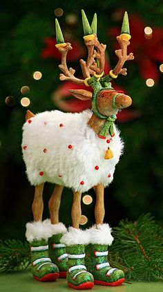 Krinkles by Patience Brewster Dashaway Blitzen Figure