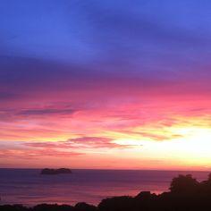 Sunset @ Costa Rica beach