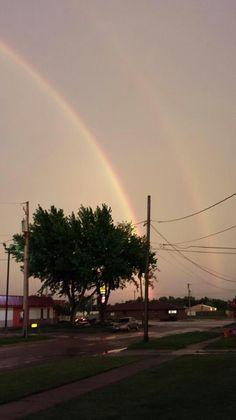 Double Rainbow /Iowa