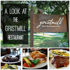 A look at the Gristmill Restaurant in New Braunfels, Texas.