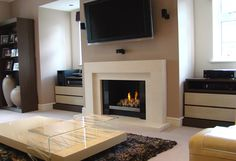 Over 40 Fireplace displays with electric, gas, real fires and stoves at Kent Fireplace. Limestone Fireplace, Living Room Decor Modern, Fireplace Showroom, House Design, Gas Fireplace, Woodburning Stove Fireplace, Wood Burning Stove, Fireplace, Room Decor