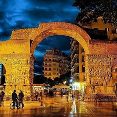 Meet the attractions, find events, places of entertainment and accommodation in Thessaloniki and the surrounding areas! Beautiful Islands, Beautiful Places, Greek Beauty, Greece Holiday, New Travel, Greece Travel, Greek Islands, Travel Photos, National Parks