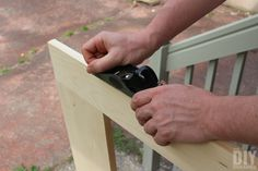 Using a hand planer
