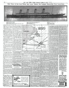 TimesMachine April 16, 1912 - New York Times - Titanic - PAGE 2