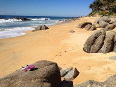 Playa Escondida #Sayulita #RivieraNayarit feels so private, so serene and so very relaxing. You won't want to leave. http://www.playa-escondida.com