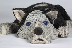 Adorable Dog Sculptures Made with Bicycle Parts - My Modern Metropolis
