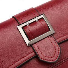 Leewos Girls PU Leather Handbag Shoulder Bag Women Drawstring Hobo Bags