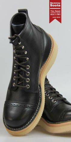 MANSWAY BOOTS 88822 MADE IN USA THE PERFECRT GIFT FOR NEW YEAR! www.mansway.com