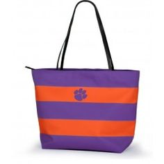 Clemson Tigers Game Day Rugby Tote, available at TotallyCollegiate.com