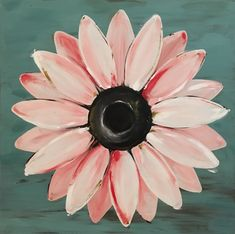 Excited to share this item from my #etsy shop: Large Daisy Painting on a Wood Panel Original Flower Art Pink Daisy Painting, Painting On Wood, Painting & Drawing, Acrylic Art, Acrylic Paintings, Animal Paintings, Flower Canvas, Flower Art, Rustic Flowers