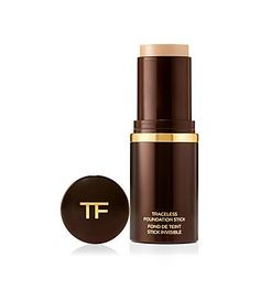 """Tom Ford Makeup for Face:  Traceless Foundation Stick in """"Alabaster"""". Coverage is light, medium, or heavy, depending on how much you use...."""