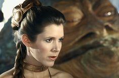 Carrie Fisher in Star Wars: Episode VI - Return of the Jedi (1983)