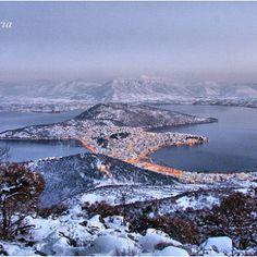 kastoria located in Macedonia Greece