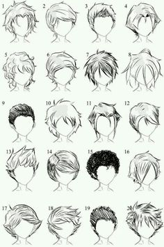 I find this hair very easy to draw