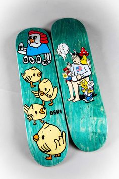 New hardgoods from Polar Skate Co. coming in hot 🚀 ⠀ Skateboard Deck Art, Skateboard Shop, Skateboard Design, Brand Character, Skate Decks, Deck Design, Skateboards, Stickers, Inspiration