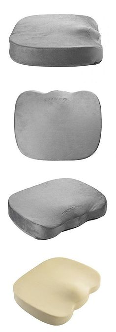 Massage Pillows and Bolsters: Comfy Cush Back Pain Seat Cushion - 100% Orthopedic Memory Foam For Sciatica ... BUY IT NOW ONLY: $37.38