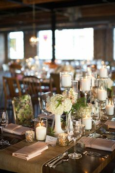 Beautiful decor at this Chicago Rustic Wedding