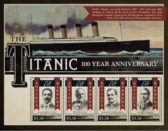 Image result for Titanic US Postage stamp