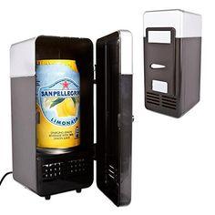 Neon® Portable USB Powered Mini Fridge Cooler and Warmer ...