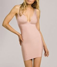 e2877c64e0cd9 Nearly Nude Thinvisible Firming Microfiber Slip (27U001) Women s Shapewear
