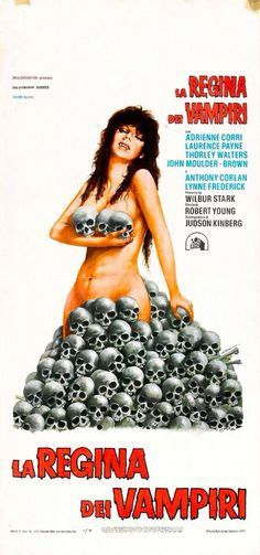Vampire Circus (1971) Italian movie poster