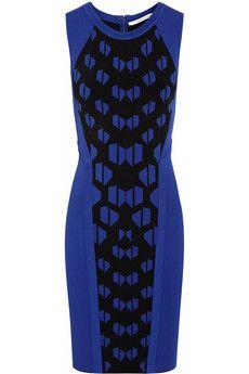 Diane von Furstenberg Franca stretch-ponte mini dress (M)