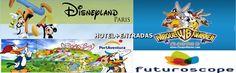 Disfruta de los mejores parques temáticos con el buscador hotel+entradas