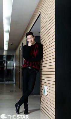 Kim woo bin Interview on thestar