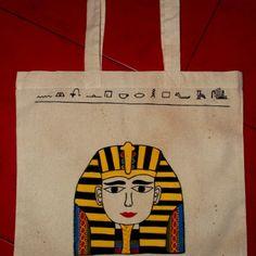 Ja spravím ručne maľované eko tašky za 6,70€ | Jaspravim.sk Reusable Tote Bags, Handmade, Hand Made, Handarbeit
