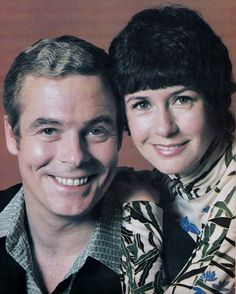 David O'Brien and Carolee Campbell (Steve and Carolee Aldrich), 1974.