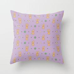 Hazel Bunny Pattern - Throwpillow