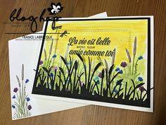 Création Encre et Papier Stampin Up, Scrapbook, Like You, Blog, Ink, Paper, Marker, Stamping Up, Scrapbooking