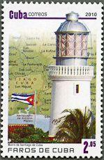 Morro de Santiago de Cuba, Scott 5158, 15 Sep 2010