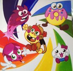 Moshi Canvas Custom Canvas, Princess Peach, Pikachu, Fictional Characters, Art, Custom Screens, Art Background, Kunst, Gcse Art