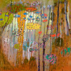 "Rick Stevens  Materialism Is An Assumption | oil on canvas | 48 x 48"" | 2013"